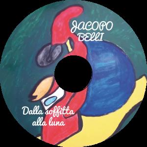 realizzazione grafica cd label di Jacopo Belli