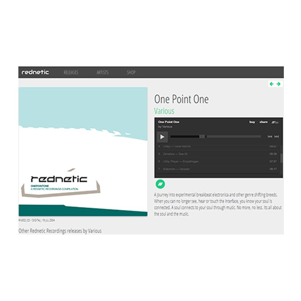 immagine sito rednetic per traccia audio realizzata da drive in multimedia, composizione musicale, registrazione audio, produzione musicale