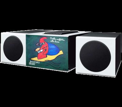"""Creazione jingle Prato, Firenze, Pistoia. Creazione basi musicali. Produzione audio e arrangiamento del disco """"Dalla soffitta alla luna"""" di Jacopo Belli per l'etichetta discografica Hydra music records"""