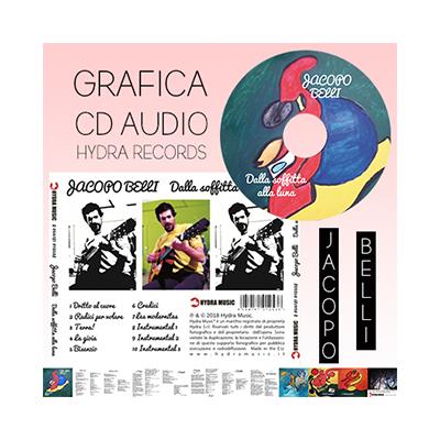 grafiche per artisti, grafiche per cd musicali, grafiche musica, realizzazione booklet e inlay