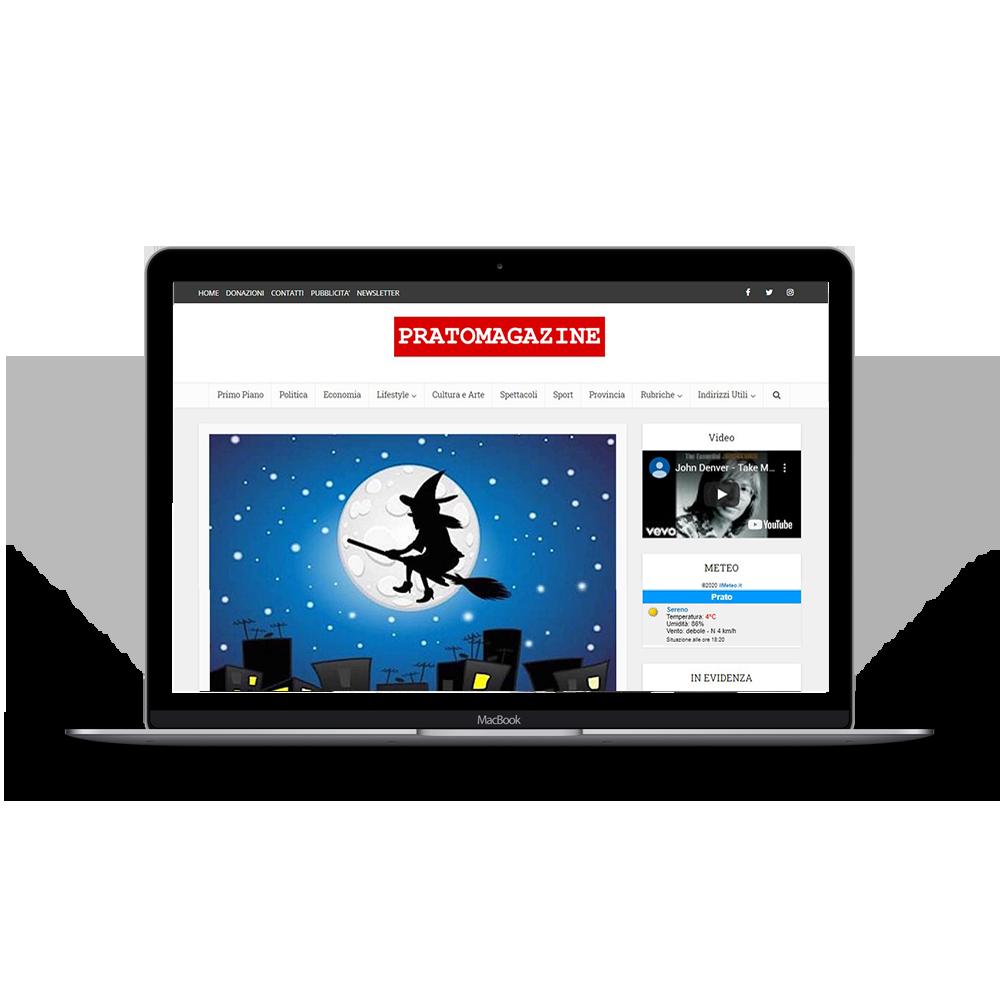 realizzazione sito web prato magazine, realizzazione siti web per riviste online, realizzazione siti web per magazine online