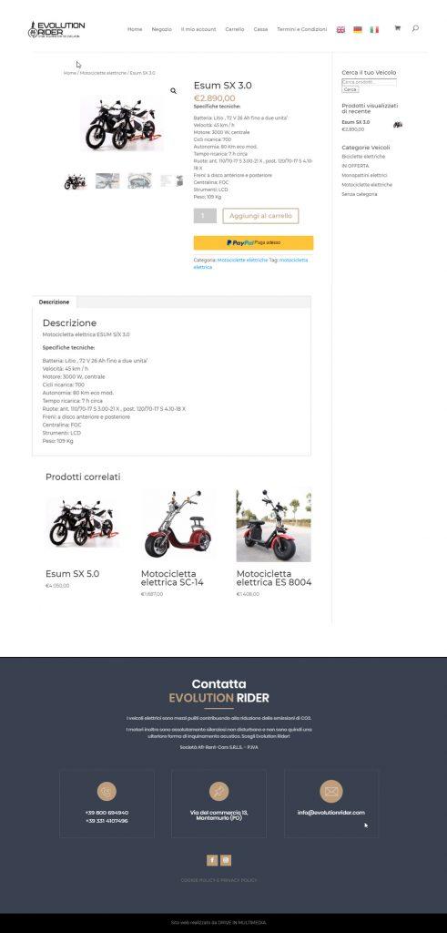 realizzazione siti Ecommerce per piccole aziende